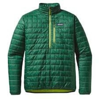 Patagonia PATAGONIA MENS P/O NANO PUFF HUNTER GREEN