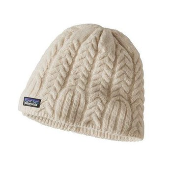 Patagonia PATAGONIA W'S CABLE BEANIE TOASTED WHT OSFA