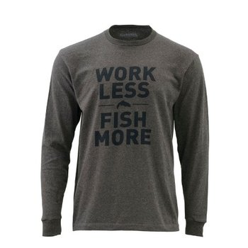 Simms Fishing Products SIMMS WORK LESS FISH MORE TROUT LS T