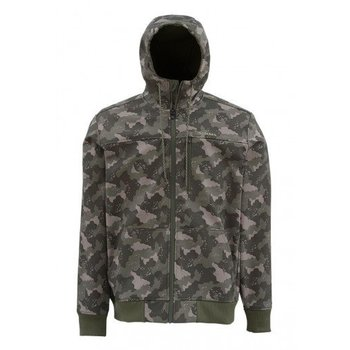 Simms Fishing Products SIMMS ROUGE FLEECE HOODY CAMO