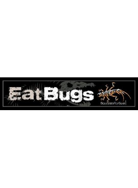 Eat Bugs Decal