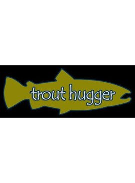 TROUT HUGGER DECAL