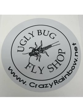 UGLY BUG DECAL 6""