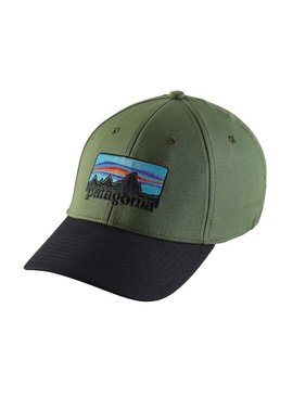 Patagonia PATAGONIA '73 LOGO STRETCH FIT HAT