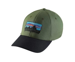 8df0121d2c66a PATAGONIA  73 LOGO STRETCH FIT HAT - Ugly Bug Fly Shop