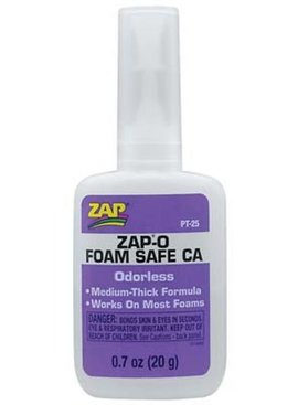 Zap ZAP A GAP FOAM SAFE GLUE