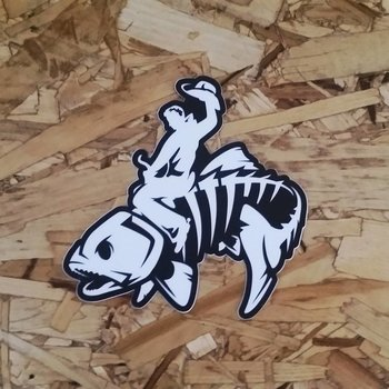 Dead Drift Dead Drift Fly Bucking Trout Sticker