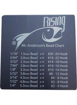 Rising RISING COASTER BEAD CHART