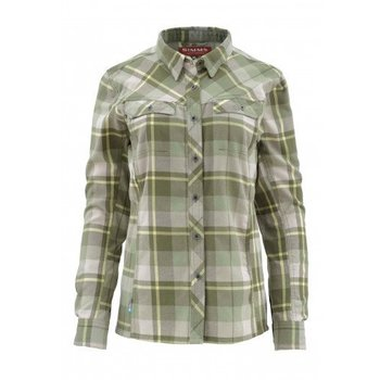 Simms Fishing Products SIMMS WOMENS WOOL BLEND FLANNEL