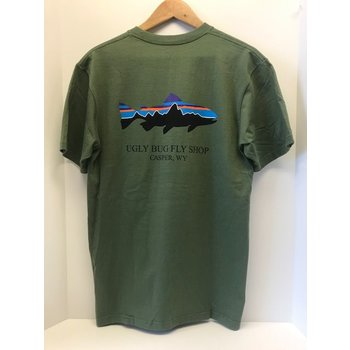 Patagonia PATAGONIA M'S FITZ ROY TROUT COTTON T-SHIRT UGLY BUG