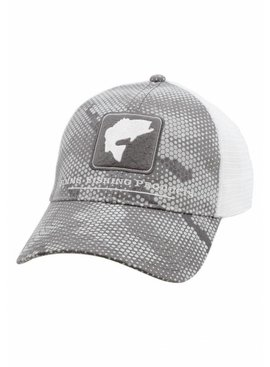 Simms Fishing Products SIMMS CBP BASS TRUCKER CAP WITH PATCH
