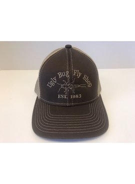 UGLY BUG FLY SHOP TRUCKER HAT BROWN/ KHAKI