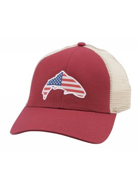 Simms Fishing Products SIMMS USA PATCH TRUCKER