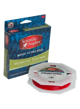 Scientific Anglers SCIENTIFIC ANGLERS MASTERY TEXTURED STREAMER EXPRESS 250 YLW/GRY 200GR