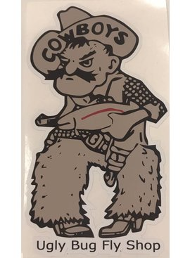 Ugly Bug Fly Shop UGLY BUG PISTOL PETE STICKER