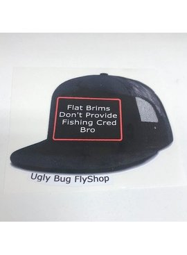 Ugly Bug Fly Shop UGLY BUG FLAT BRIM BRO STICKER