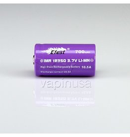 Efest Efest Battery | 18350, 700mAh, 10.5A | Flat Top
