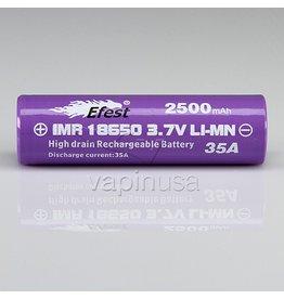 Efest Efest Battery | 18650, 2500mAh, 35A | Button Top