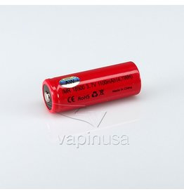 Other AW IMR Battery | 18500, 1100mAh | Button Top