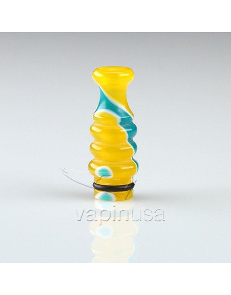 Triple Gourd Acrylic Drip Tip