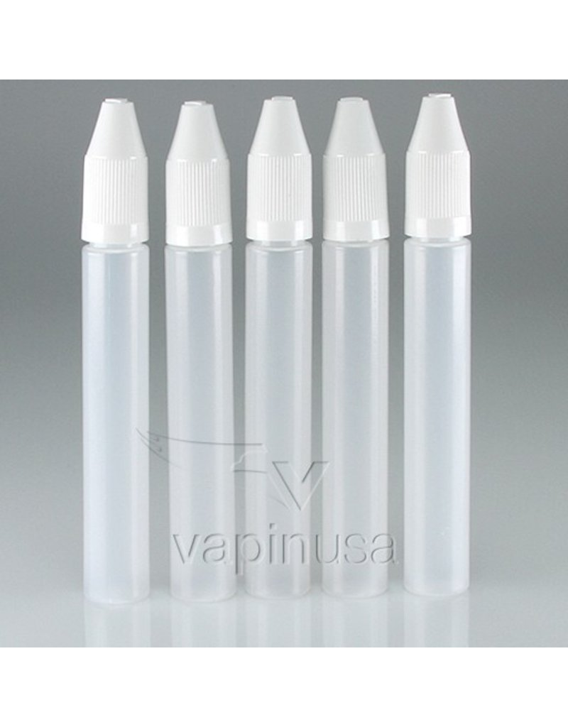 Empty Unicorn Bottle, 15ml w/ White Cap