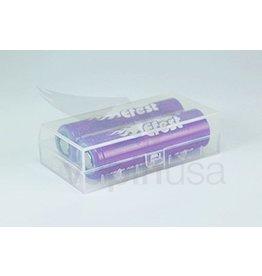 Efest Efest 18650 Battery Case | Hard Plastic (Holds 2)