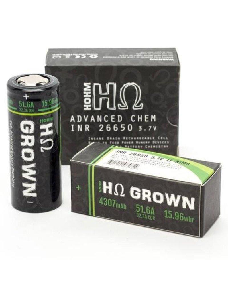 Hohm Tech Hohm Tech Hohm Grown 26650 Battery | 4307mAh 51.6A