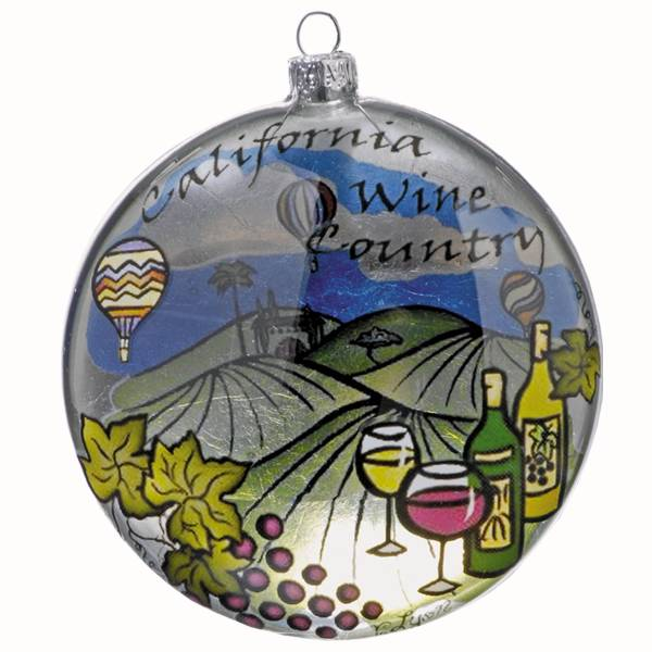 Wine Country Ornament