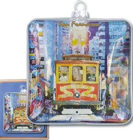Cable Car Boxed Ornament