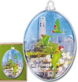 Coit Tower Boxed Ornament