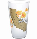 State Frosted Pint Glass  - AVAILABLE APPROX.  10/15/18