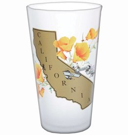 Golden State Frosted Pint Glass  - AVAILABLE APPROX.  10/15/18