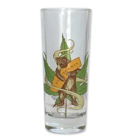Cannabis Bear Shooter / Tall Shot Glass