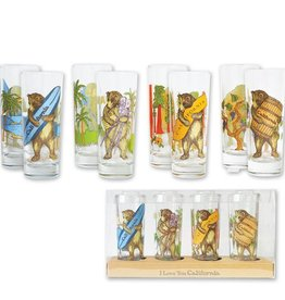California Bear, Set of 4 Shooters - OUT OF STOCK
