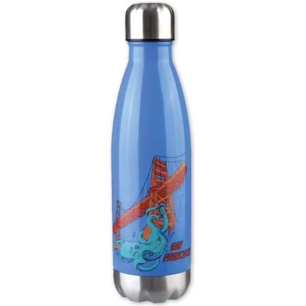 Octo on GG Bridge Stainless Water Bottle