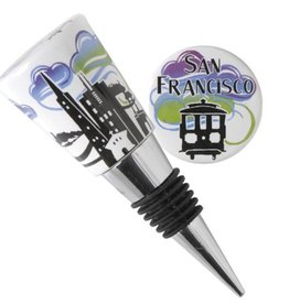 SF Twilight Bottle Stopper