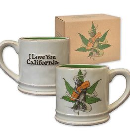 Cannabis Bear Ceramic Mug - AVAILABLE 6/1/18