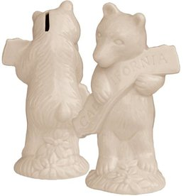 CA Bear Hug Ceramic Bank
