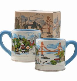 The City Ceramic Mug, Gift Boxed