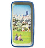 Painted Ladies, Watercolor, Large Trinket Tray
