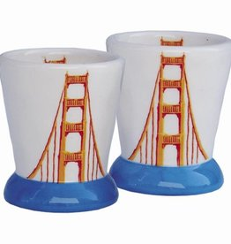 Golden Gate Bridge Ceramic Shot Glass