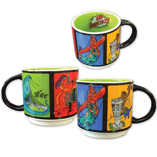 Monster Invasion Mug