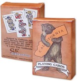 CA Bear Hug Playing Cards
