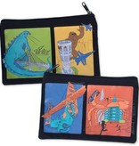 Monster Invasion Zipper Pouch