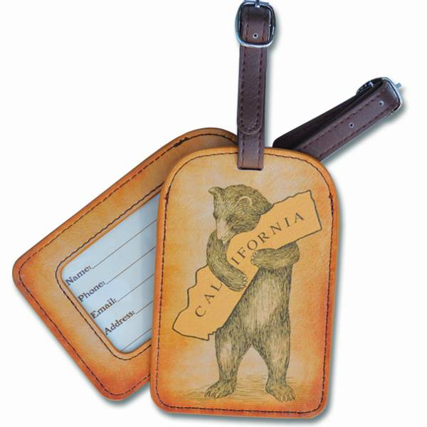 CA Bear Hug Luggage Tag