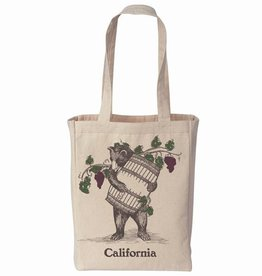 Wine Barrel Bear Tote