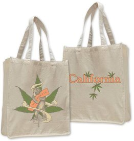 Cannabis Bear Jumbo Shopping Tote