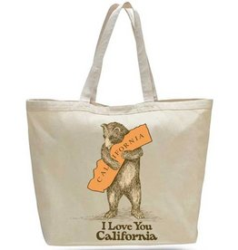 CA Bear Hug Beach Bag/Oversize Tote