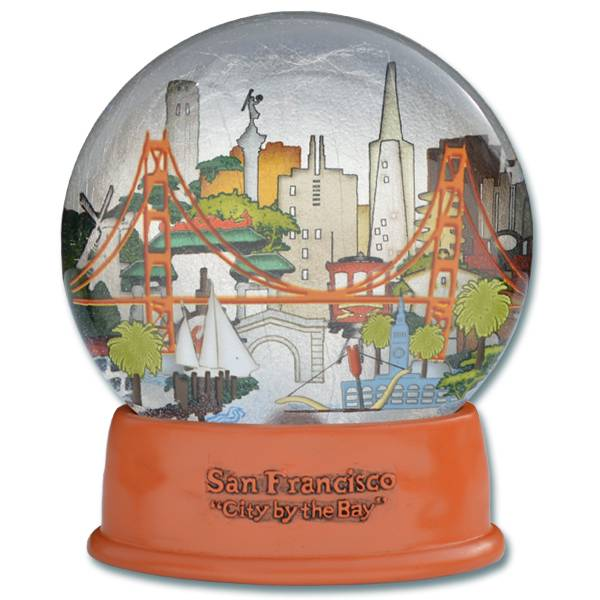 The City Fog Dome (Water Globe)