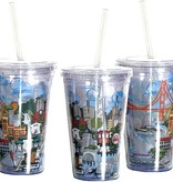 The City Acrylic Tumbler